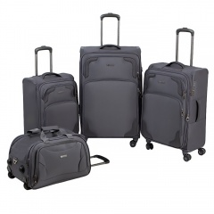 Комплект чемоданов 270-12530-TL/4-GRY Francesco Molinary FMolinary Франческо Молинари FMolinari Molinari