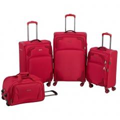 Комплект чемоданов 270-12530-TL/4-RED Francesco Molinary FMolinary Франческо Молинари FMolinari Molinari