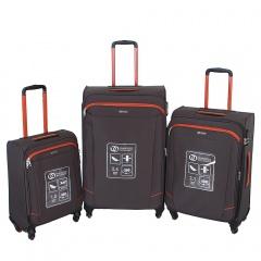 Комплект чемоданов 270-29111/3-GOR Francesco Molinary FMolinary Франческо Молинари FMolinari Molinari