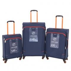 Комплект чемоданов 270-29111/3-NOR Francesco Molinary FMolinary Франческо Молинари FMolinari Molinari
