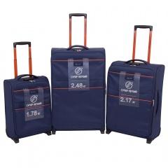 Комплект чемоданов 270-29121/3-NAV Francesco Molinary FMolinary Франческо Молинари FMolinari Molinari
