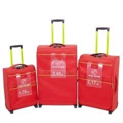 Комплект чемоданов 270-29121/3-RED Francesco Molinary FMolinary Франческо Молинари FMolinari Molinari