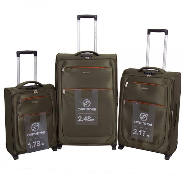 Комплект чемоданов 270-29131/3-KHK Francesco Molinary FMolinary Франческо Молинари FMolinari Molinari
