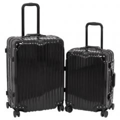 Комплект чемоданов 312-368/2-BLK Francesco Molinary FMolinary Франческо Молинари FMolinari Molinari