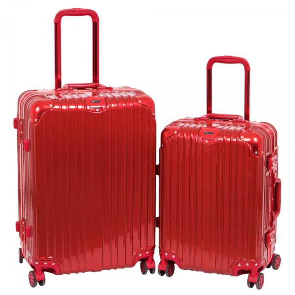 Комплект чемоданов 312-368/2-RED Francesco Molinary FMolinary Франческо Молинари FMolinari Molinari