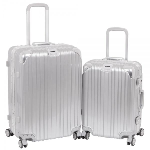 Комплект чемоданов 312-368/2-SLV Francesco Molinary FMolinary Франческо Молинари FMolinari Molinari