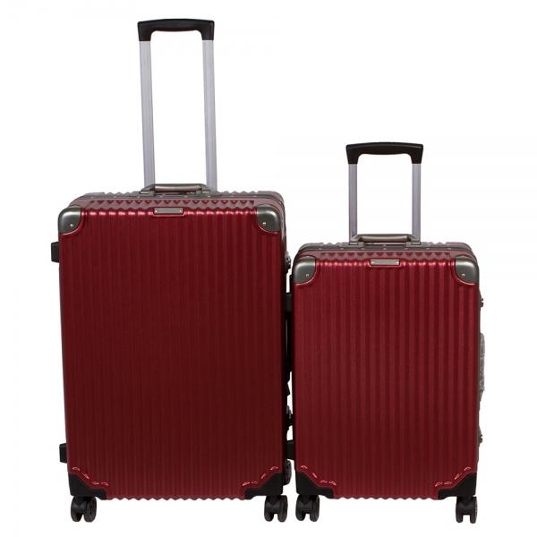 Комплект чемоданов 312-628/2-BRD Francesco Molinary FMolinary Франческо Молинари FMolinari Molinari