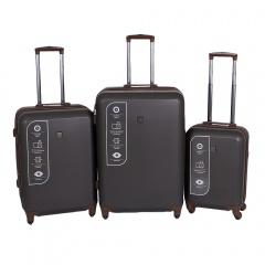Комплект чемоданов 332-ABS001/3-DGR Francesco Molinary FMolinary Франческо Молинари FMolinari Molinari