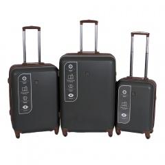 Комплект чемоданов 332-ABS001/3-KHK Francesco Molinary FMolinary Франческо Молинари FMolinari Molinari