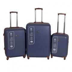 Комплект чемоданов 332-ABS001/3-NAV Francesco Molinary FMolinary Франческо Молинари FMolinari Molinari