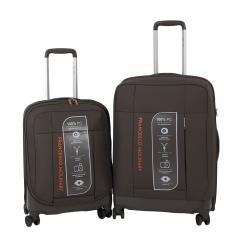 Комплект чемоданов 332-PC159F/2-KHK Francesco Molinary FMolinary Франческо Молинари FMolinari Molinari