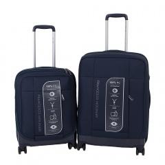 Комплект чемоданов 332-PC159F/2-NAV Francesco Molinary FMolinary Франческо Молинари FMolinari Molinari