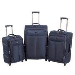 Комплект чемоданов 333-A-151/3-NAV Francesco Molinary FMolinary Франческо Молинари FMolinari Molinari