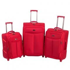 Комплект чемоданов 333-A-151/3-RED  Francesco Molinary FMolinary Франческо Молинари FMolinari Molinari