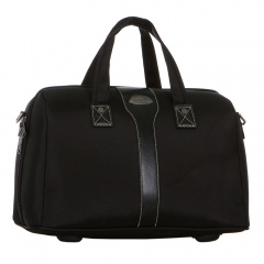 Дорожная сумка 118-8013-4-11-BLK Francesco Molinary FMolinary Франческо Молинари FMolinari Molinari