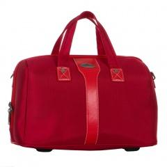 Дорожная сумка 118-9025/4-11-RED Francesco Molinary FMolinary Франческо Молинари FMolinari Molinari