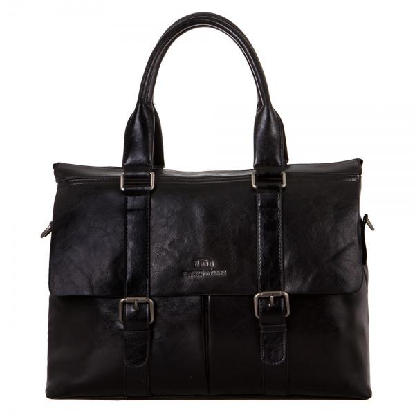Дорожная сумка 292-H6858-2-BLK Francesco Molinary FMolinary Франческо Молинари FMolinari Molinari
